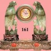 Chinese Carved Jade Clock