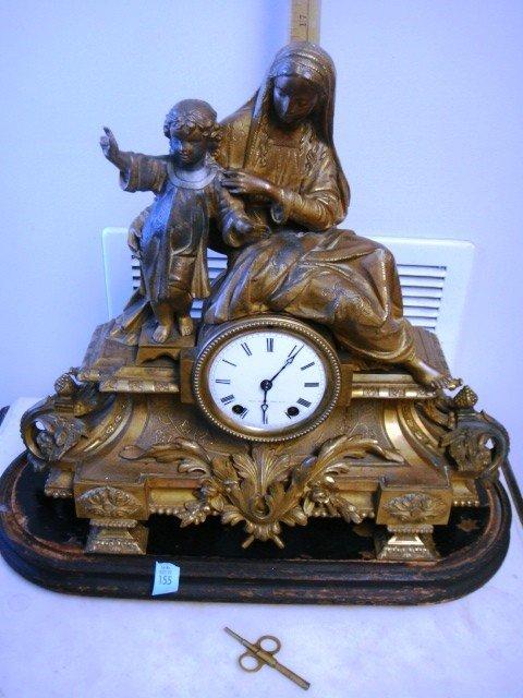 Seth Thomas and Sons Bronze Mantel Clock