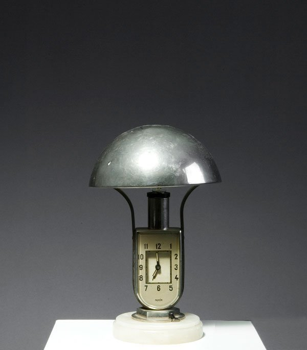 Table light with alarm clock