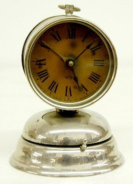 Antique Parker Bell Bottom Alarm Clock